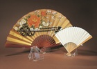 Antique Hand Fan Displays